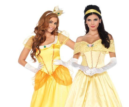 Belle en het beest kostuums