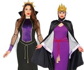 Boze koningin kostuum