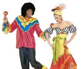 Brazilliaanse Carnavals kleding