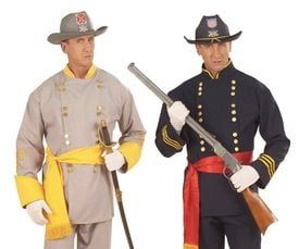 Amerikaanse Burgeroorlog Kleding