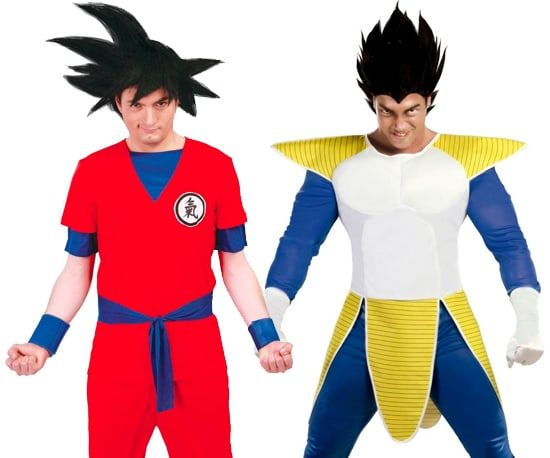 Dragon ball kostuum