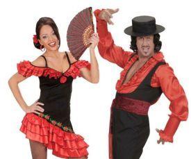 Flamenco danseres jurk
