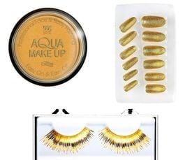 Gouden cosmetica