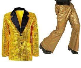 Gouden kledingstukken