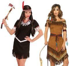 Indianen jurk