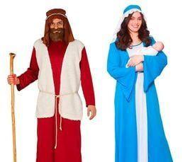 Kerststal kleding