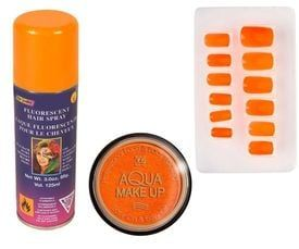 Oranje cosmetica