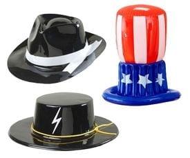 Plastic hoeden
