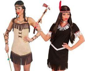Pocahontas kostuum
