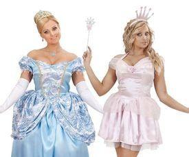 prinsessenjurk dames carnaval