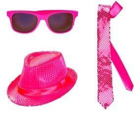 Roze accessoires