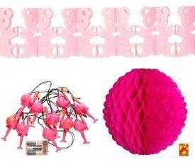 Roze decoratie