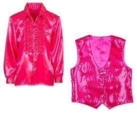 Roze kledingstukken