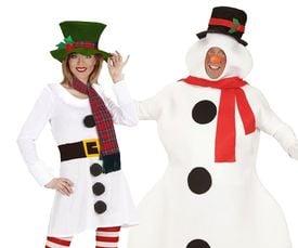 Sneeuwman & Sneeuwpop