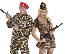 Soldaat kostuum