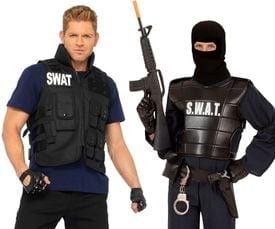 Swat kostuum heren