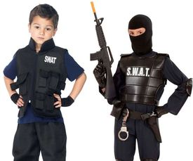 Swat kostuum kind