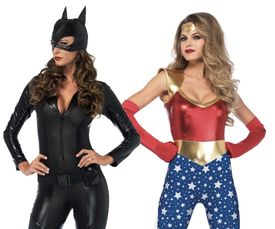 Superhelden kostuum dames