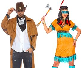 Wilde westen kleding