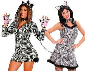 Zebraprint jurkjes