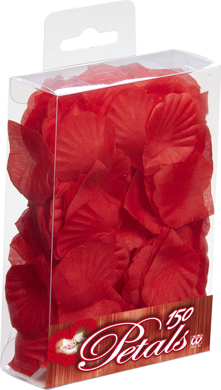 150 rode rozen blaadjes