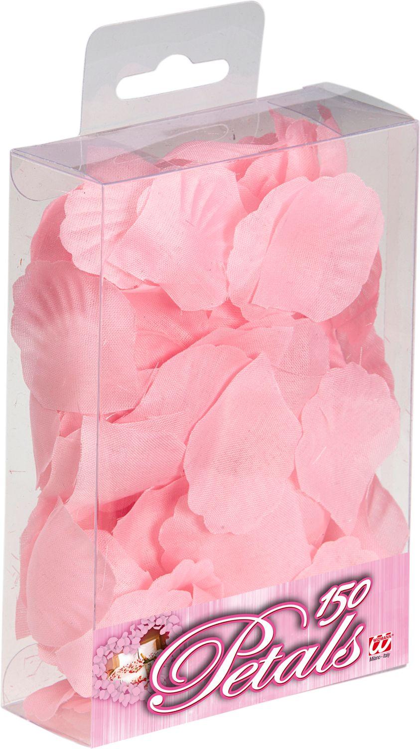 150 roze rozen blaadjes