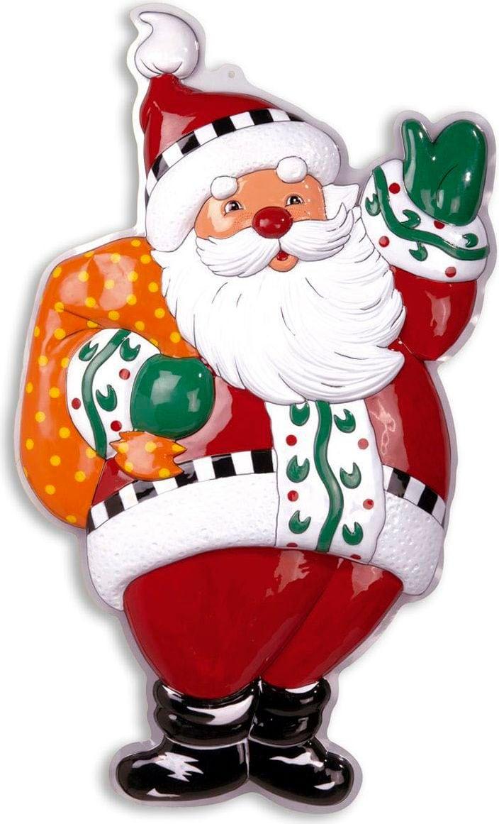 3D kerstman decoratie