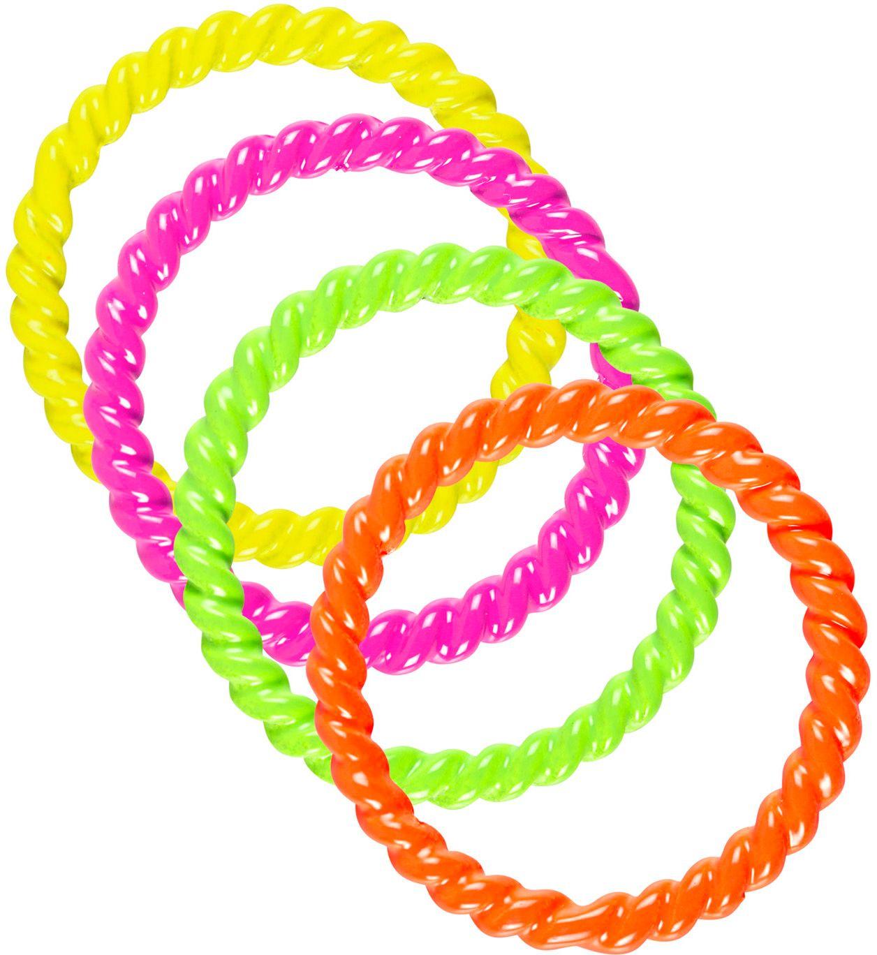 4 neon ringen
