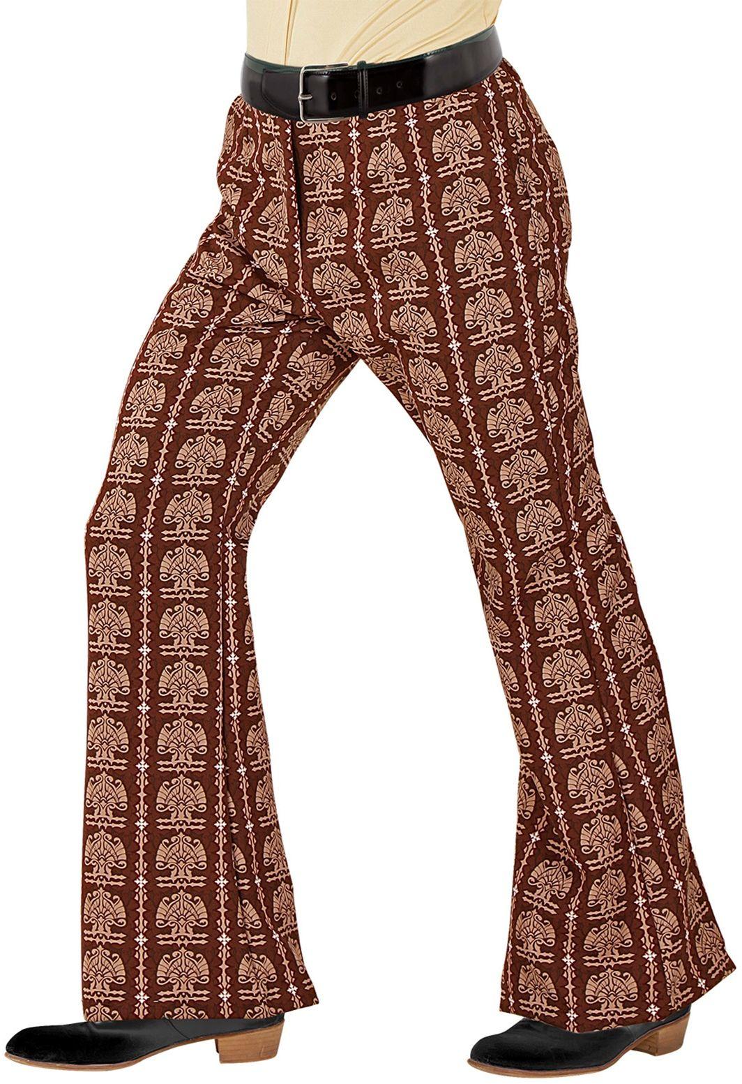 70s broek bruin