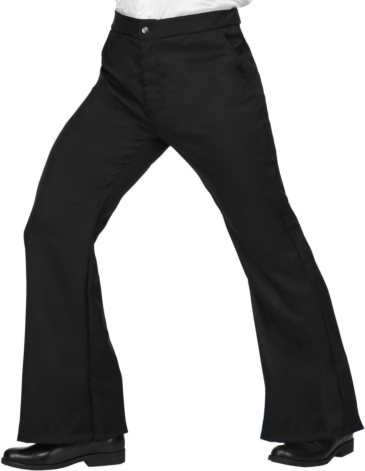 70s broek zwart man