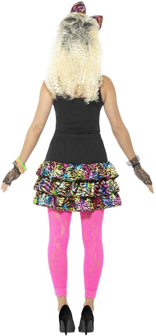 80s party girl kostuum