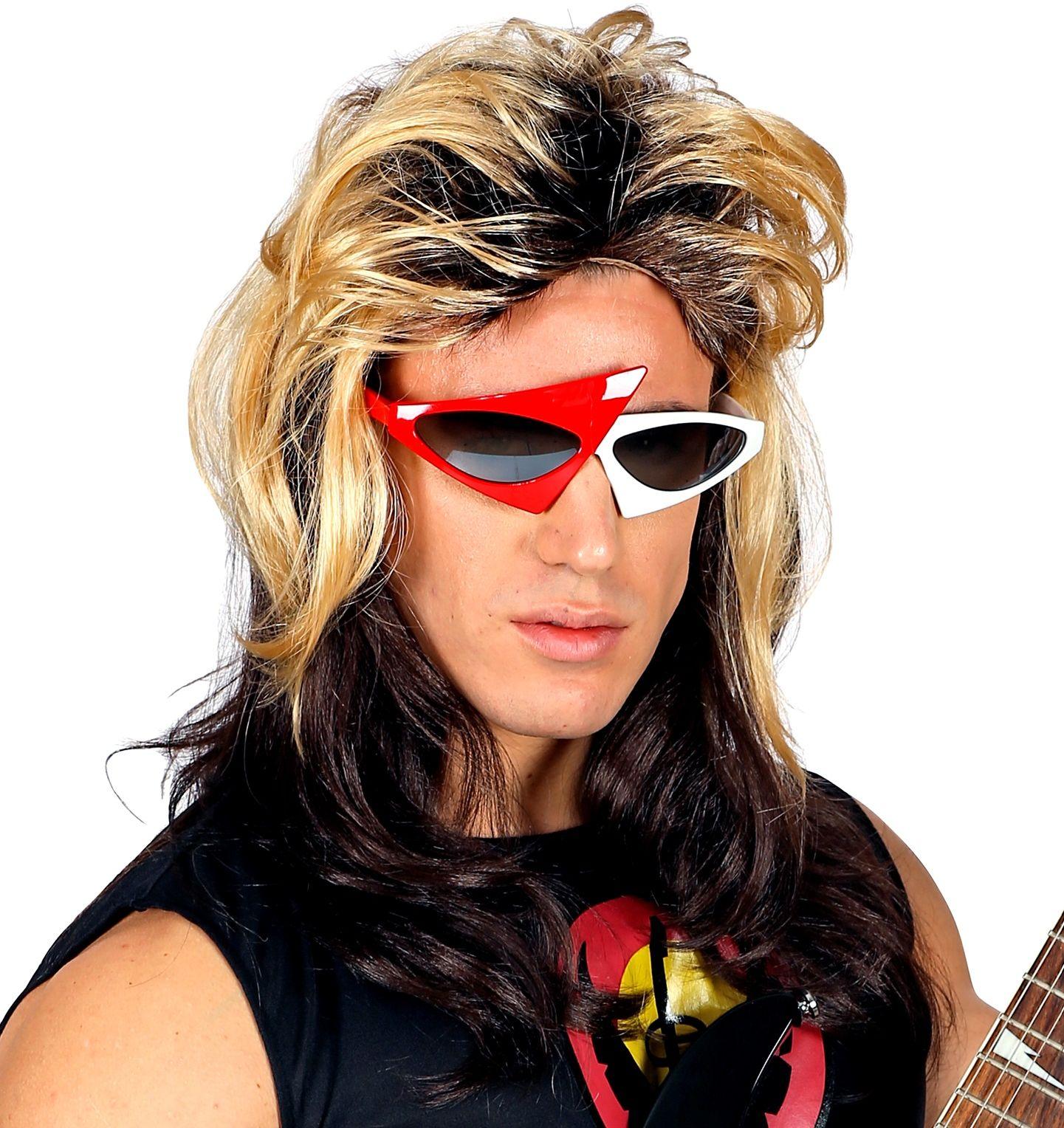 80s Rocker pruik