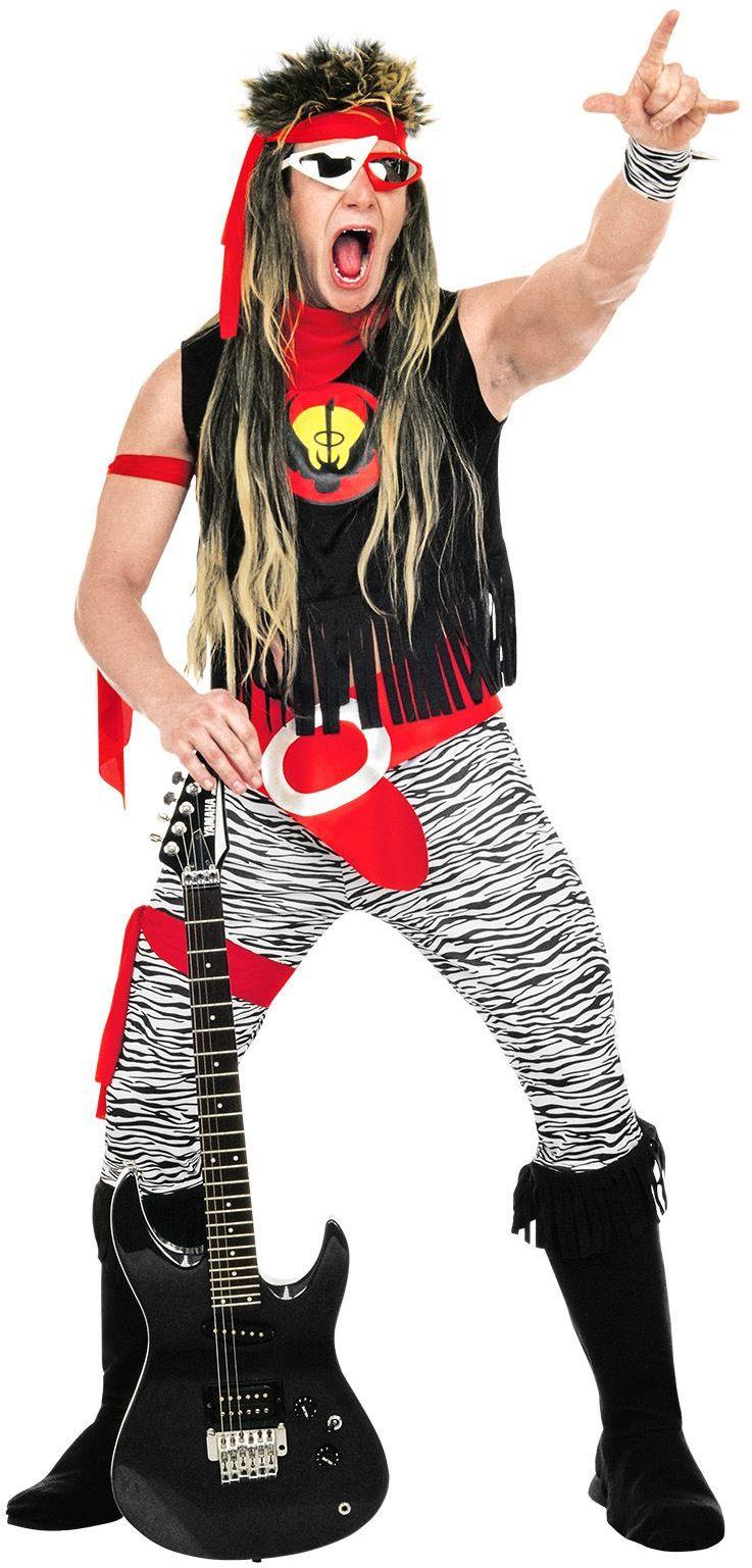 80s rockster kostuum