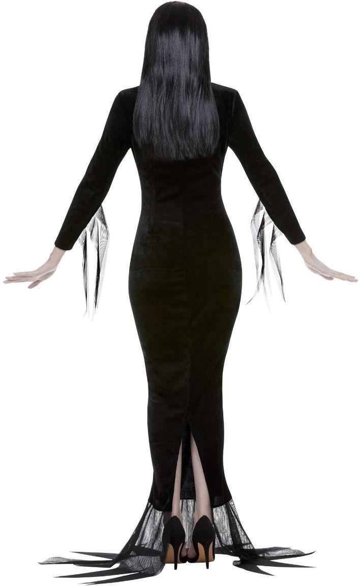 Addams family Morticia kostuum