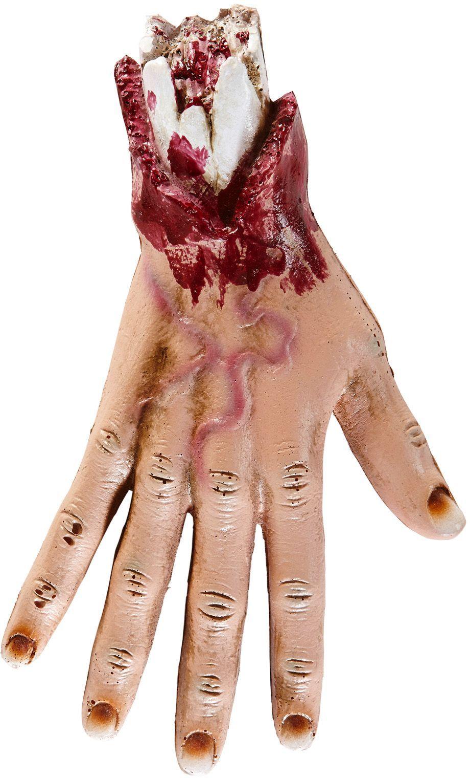 Afgehakte hand decoratie