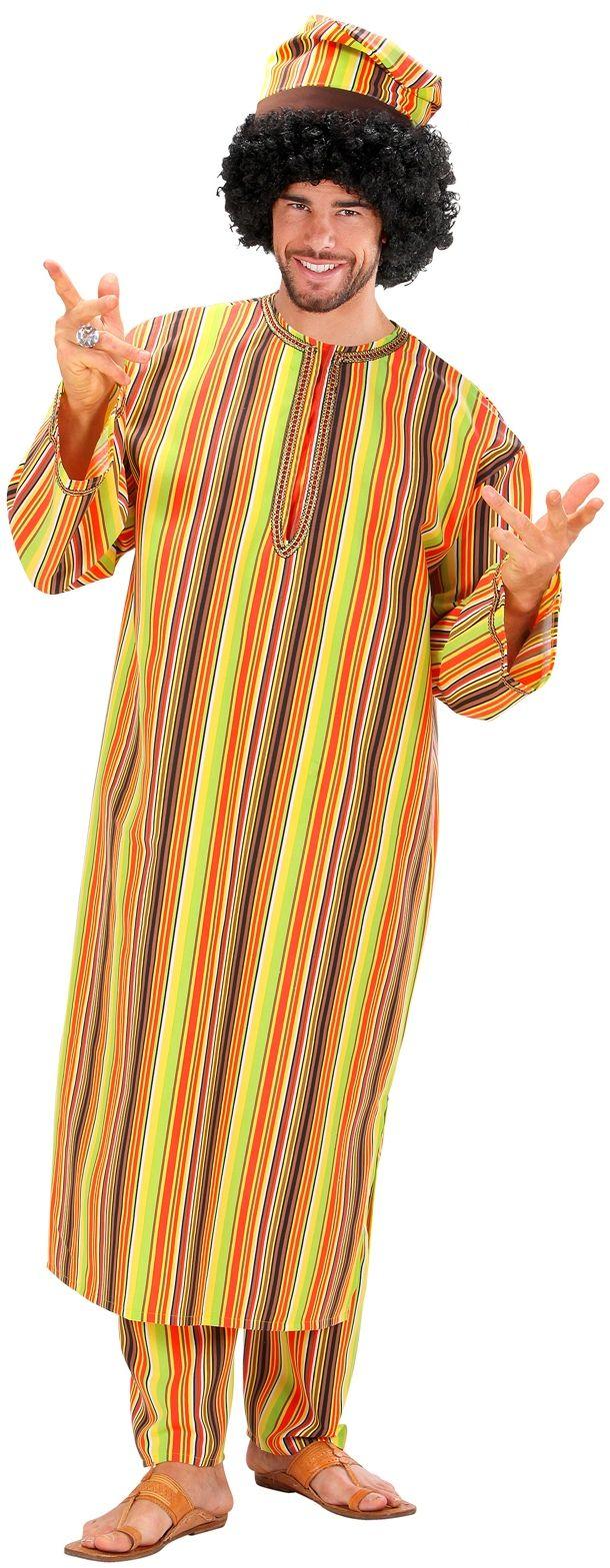 Afrikaanse heer kostuum
