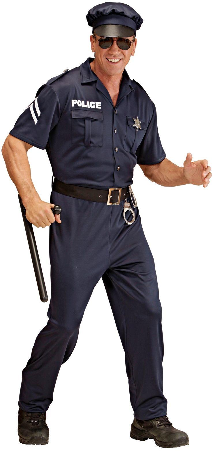 Agent kostuum, donkerblauw