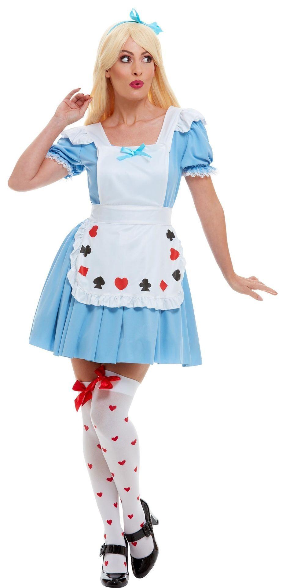 Alice in Wonderland jurkje dames