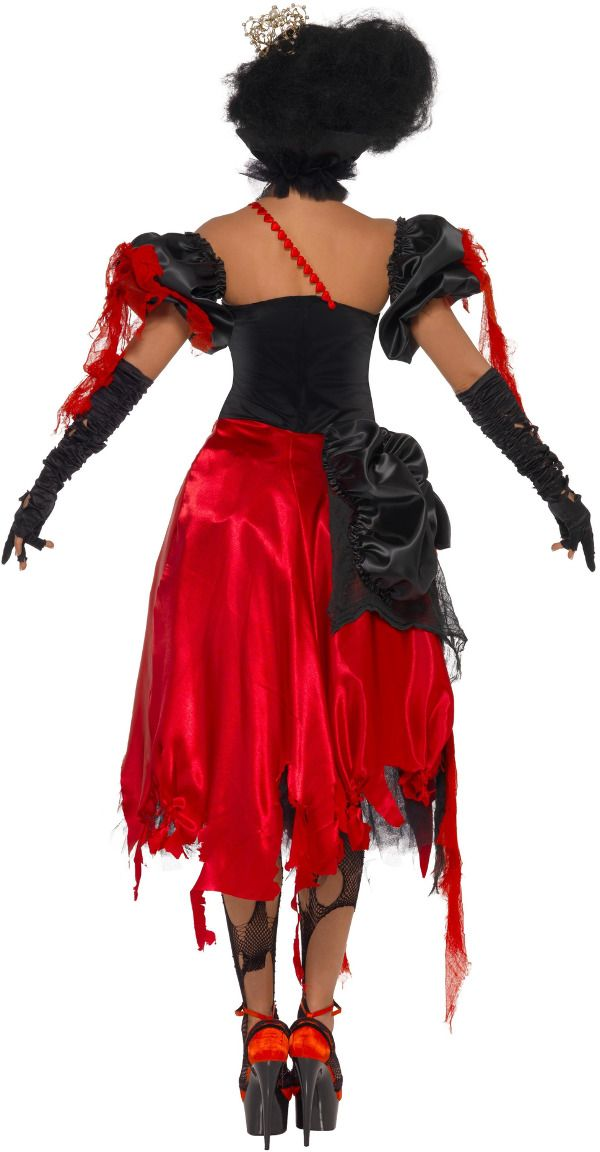 Alice in Wonderland queen of hearts horror outfit