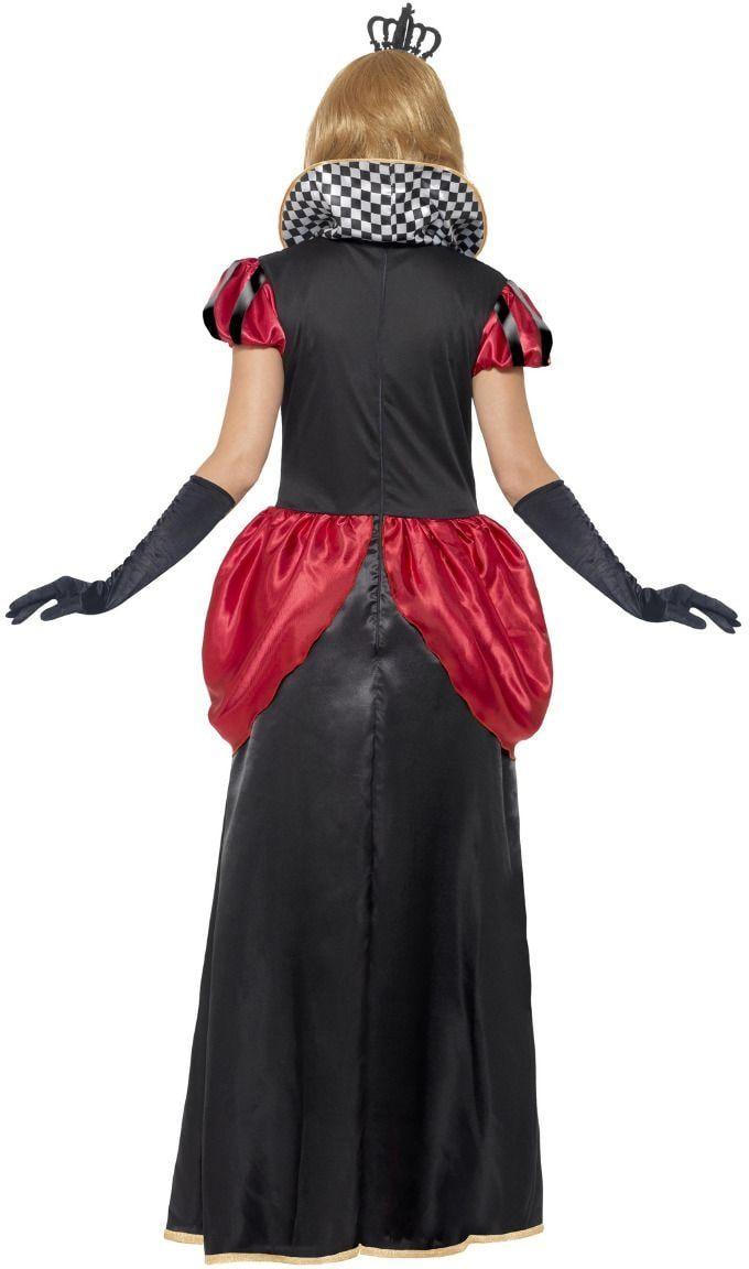 Alice in Wonderland rode koningin kostuum