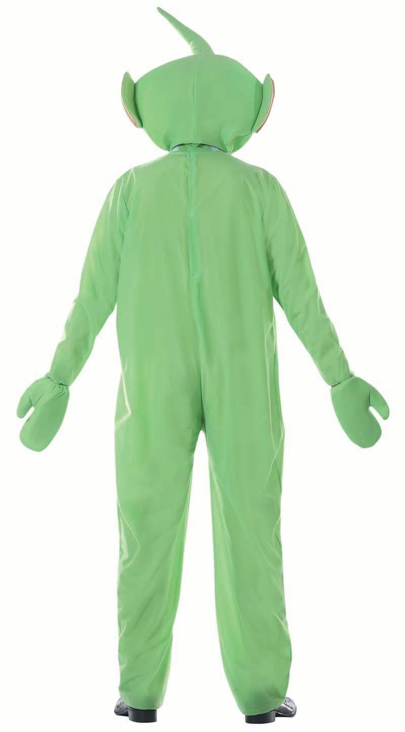 Alien groene teletubbie pak