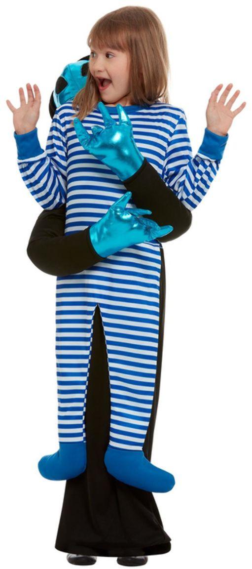Alien kidnapping kinder kostuum