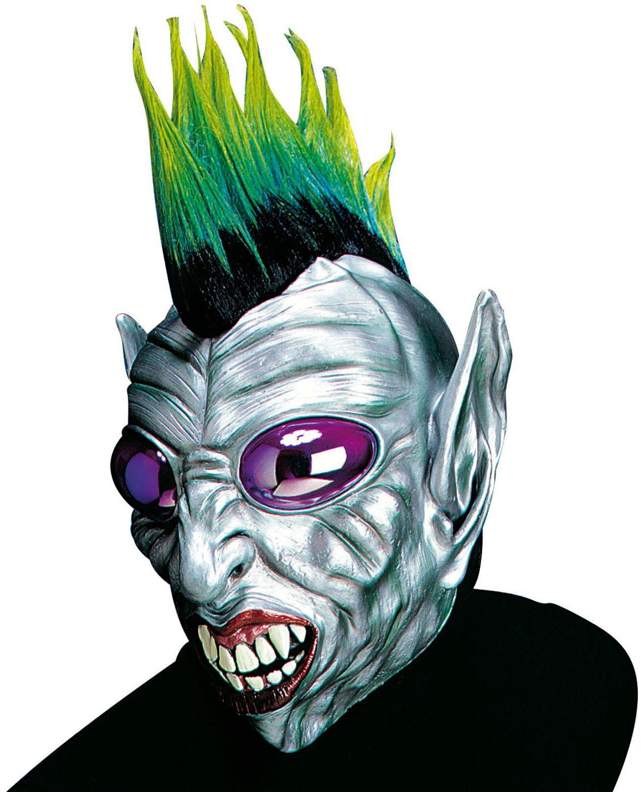 Alien punk masker