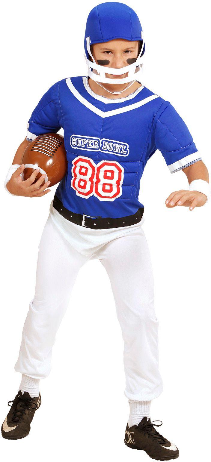 American Football speler overal kind