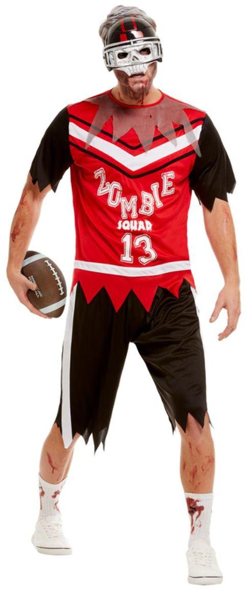 American football zombie kostuum