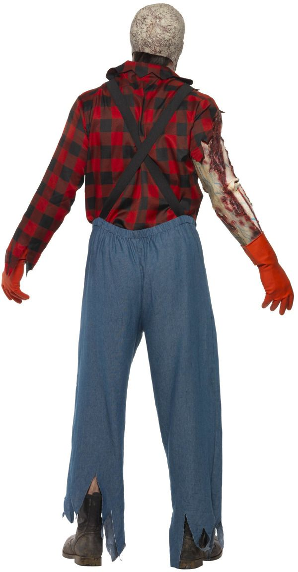 Amerikaanse billy zombie outfit