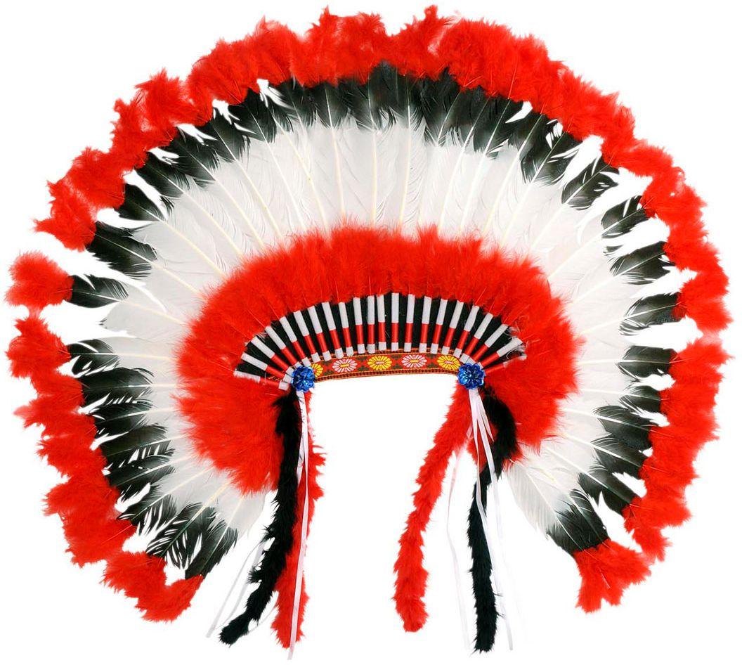 Amerikaanse indianen hoofdtooi