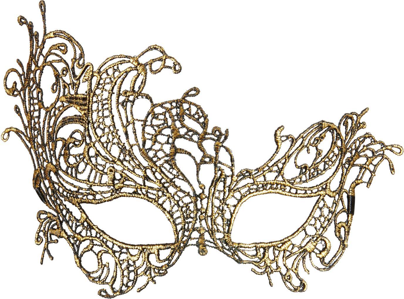 Antieken gouden barok oogmasker