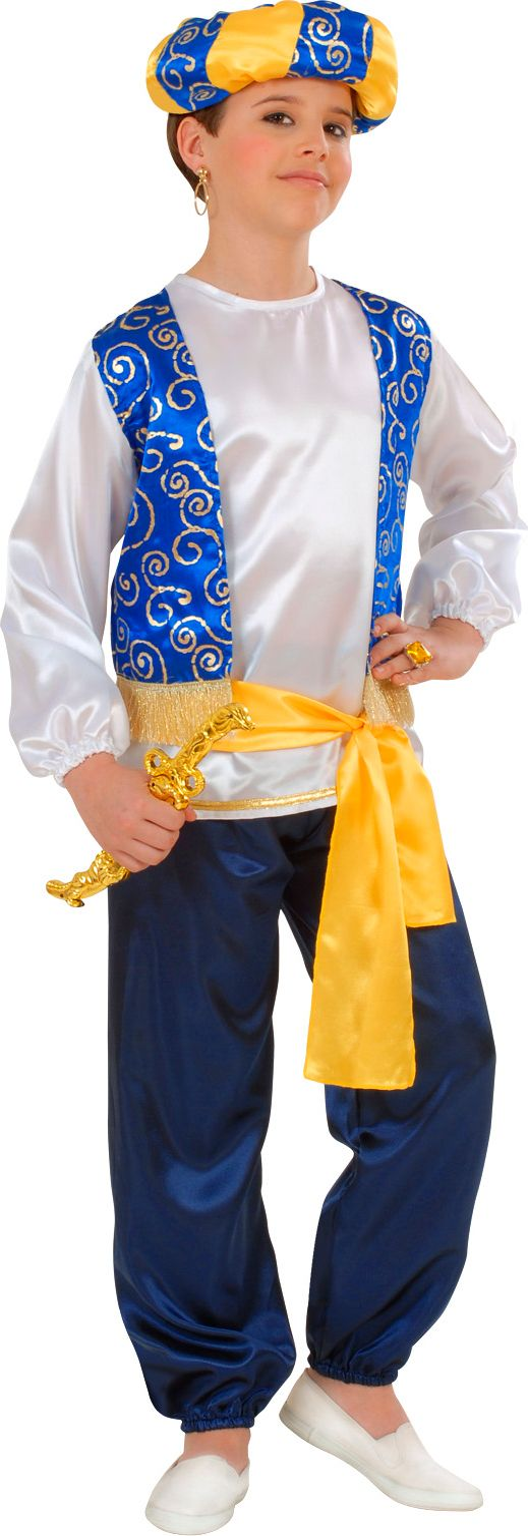 Arabische prins, jongen kostuum