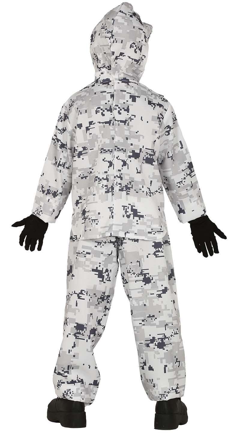 Arctic soldaat kostuum